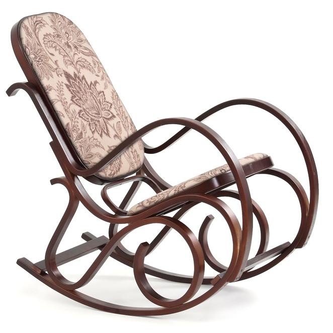 Кресло-качалка MAX II HALMAR (орех)