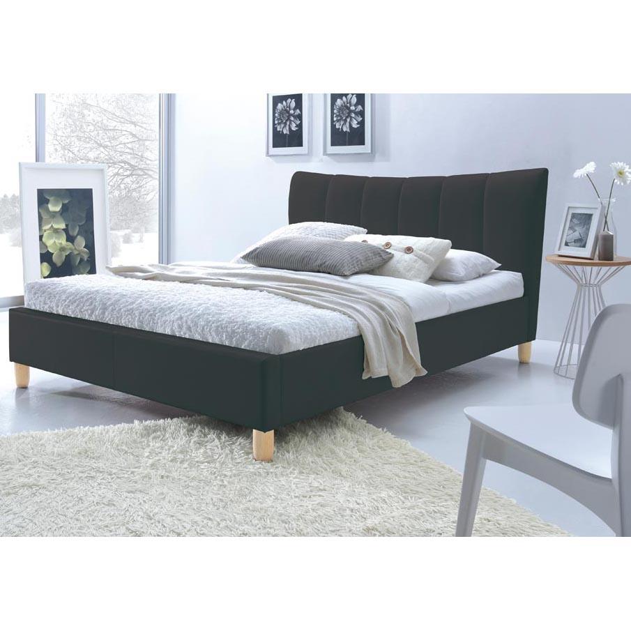 Кровать SANDY HALMAR 160 (черный)