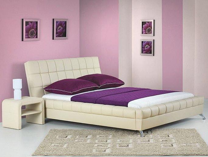Кровать BONITA HALMAR 180 (бежевый)
