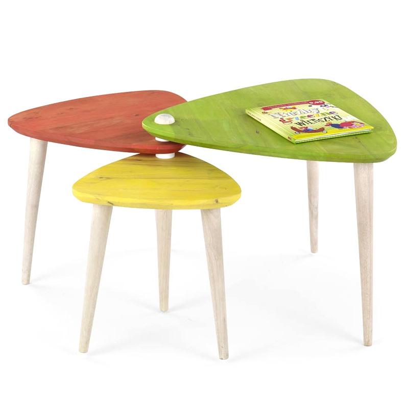 Стол журнальный CORSICA HALMAR (разноцветный)