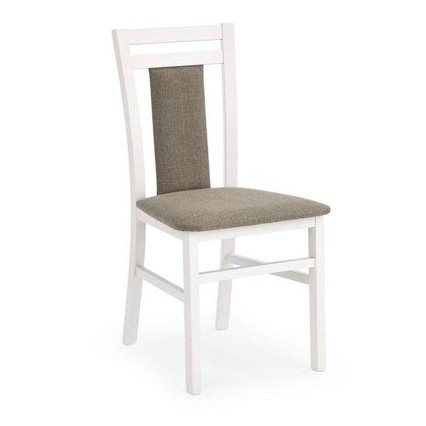 Деревянный стул HUBERT 8 HALMAR (белый)