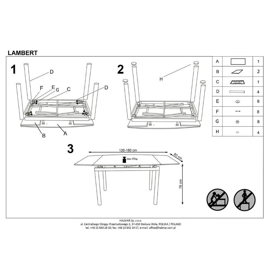 Инструкция по сборке стол кухонный