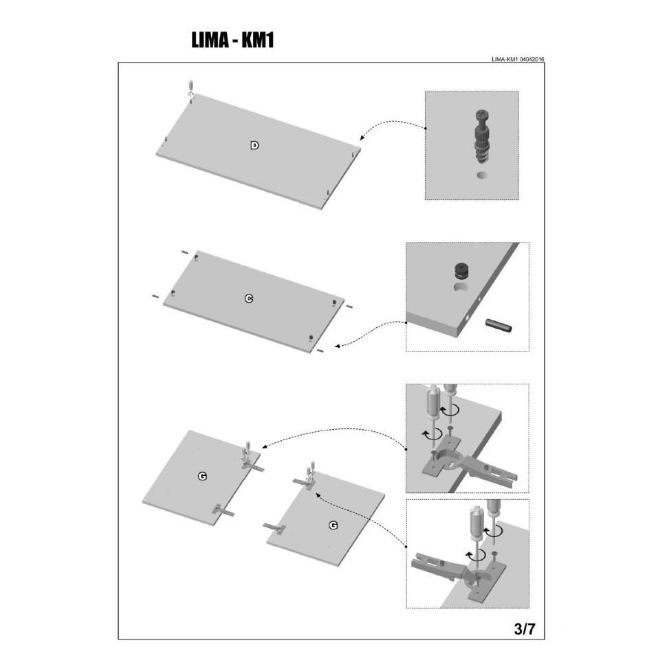 инструкция по сборке комода км-1